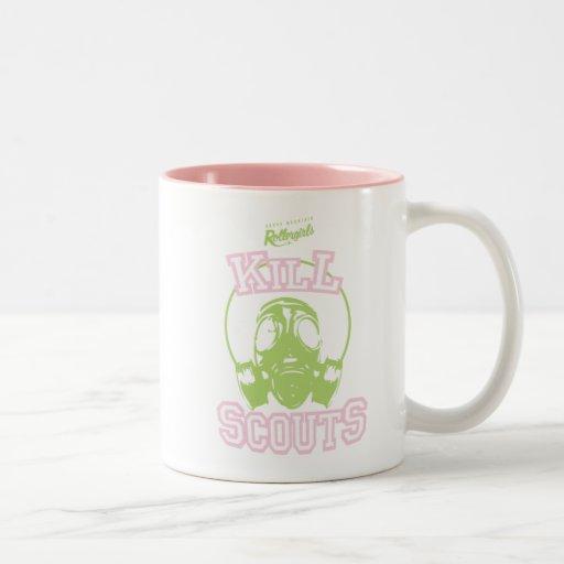 Kill Scouts Two-Tone Coffee Mug