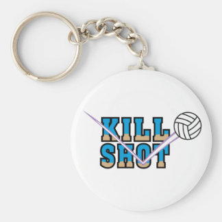 Kill Shot Basic Round Button Keychain