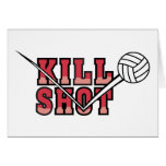 kill Shot Volleyball Card