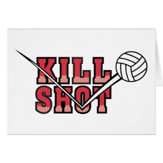kill Shot Volleyball Card