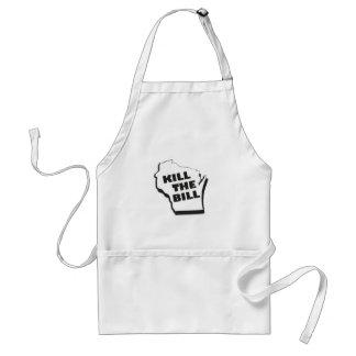 Kill the bill adult apron