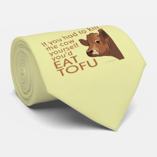 Kill the Cow - Vegan, Vegetarian Tie