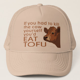 Kill the Cow - Vegan, Vegetarian Trucker Hat