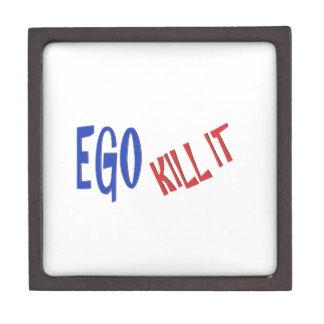 KILL THE EGO wisdom text graphics Gift Box