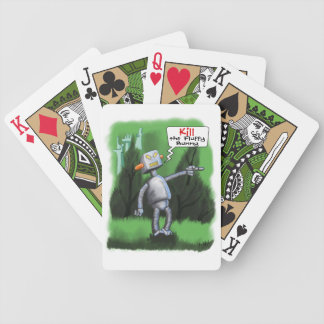 Kill the Fluffy Bunny Bicycle Playing Cards