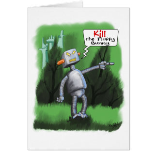Kill the Fluffy Bunny Card