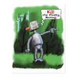 Kill the Fluffy Bunny Postcard