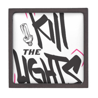 kill the lights keepsake box