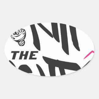 kill the lights oval sticker