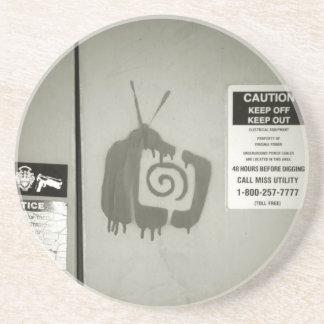 Kill The TV Drink Coaster
