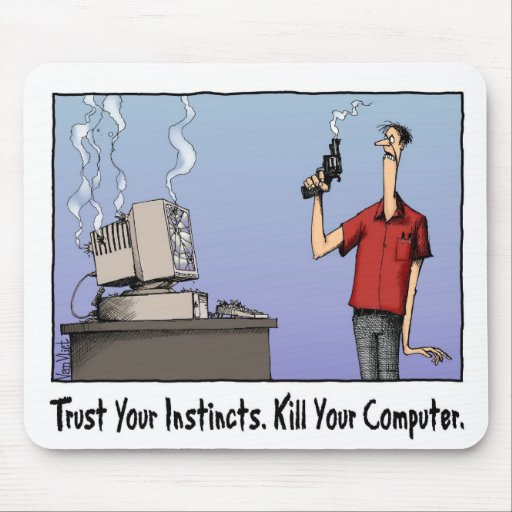 Kill Your Computer Mousepad
