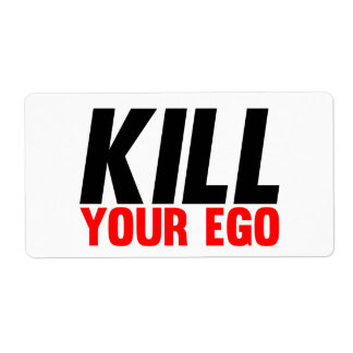 Kill Your Ego Shipping Labels