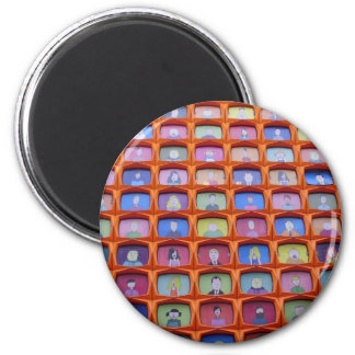 Kill your television 2 inch round magnet