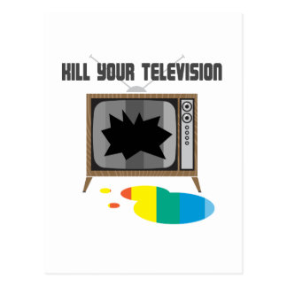 Kill Your Television Postcards