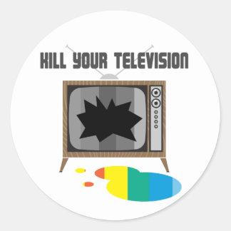 Kill Your Television Sticker