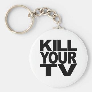 Kill Your TV Keychain