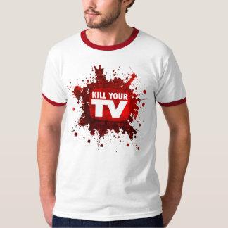 kill your tv t shirt