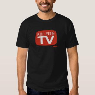 KILL YOUR TV TEE SHIRT