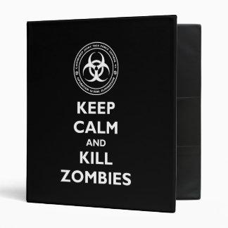 Kill Zombies Binder