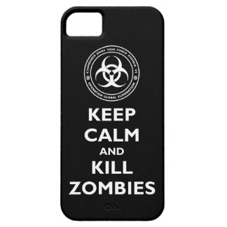 Kill Zombies iPhone SE/5/5s Case