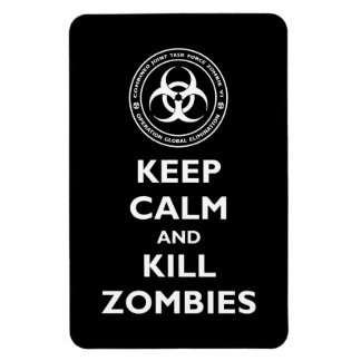 Kill Zombies Magnet