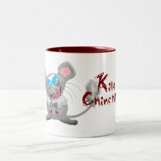 Killa Chinchilla Two-Tone Coffee Mug