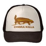 killa de la cobra del tejón de miel gorras de camionero