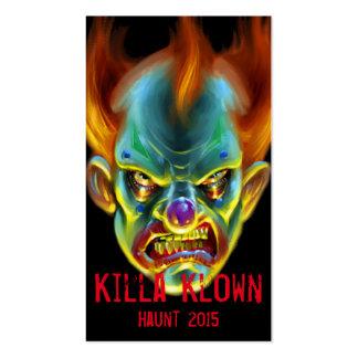 Killa Klown Business Card