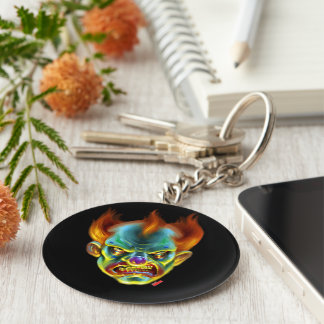 Killa Klown Keyring Basic Round Button Keychain