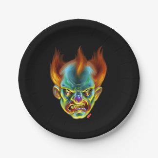 Killa Klown Monster Paper Plate