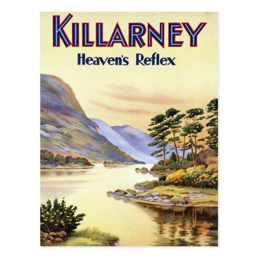 Killarney, Heaven's Reflex Postcard