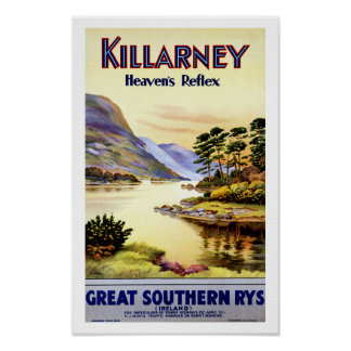 Killarney ~ Heaven's Reflex Poster