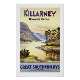 Killarney, Heaven's Reflex Poster