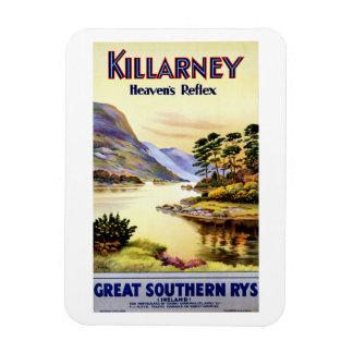 Killarney ~ Heaven's Reflex Rectangular Photo Magnet