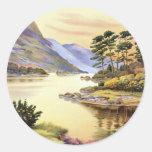 Killarney, Heaven's Reflex Round Stickers