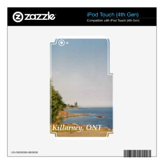 Killarney, ONT Skins For iPod Touch 4G