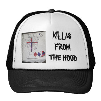 KILLAS FROM THE HOOD TRUCKER HAT