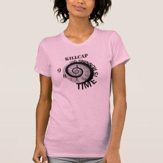 KillCap El tiempo está corriendo hacia fuera Camisetas
