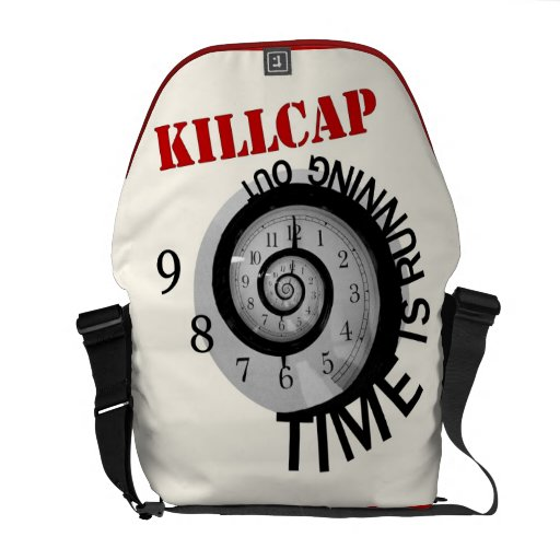 KillCap -- Time is Running Out Courier Bag