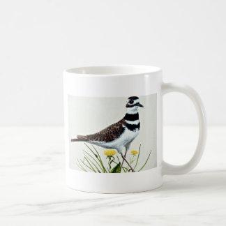 Killdeer  flowers classic white coffee mug