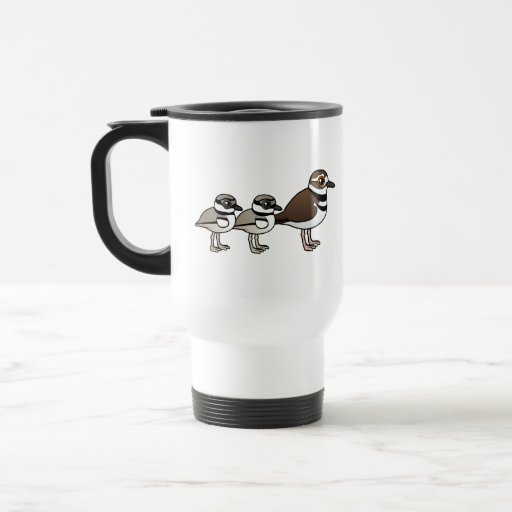 Killdeer & two chicks coffee mugs
