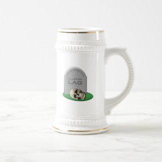 Killed By Lag Coffee Mug