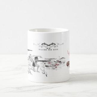 killed for kill 02 coffee mug