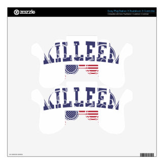 Killeen US Flag Decal For PS3 Controller