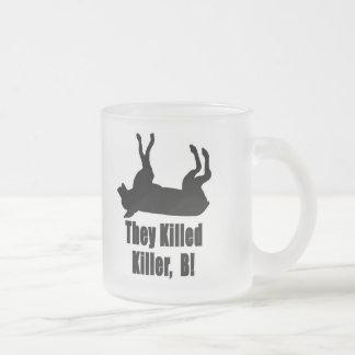 Killer4 Frosted Glass Coffee Mug