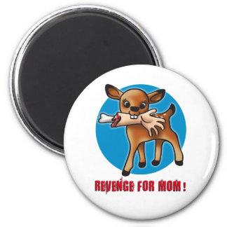 Killer Bambi 2 Inch Round Magnet