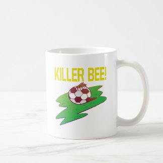 Killer Bee Classic White Coffee Mug