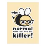 Killer Bee Postcard