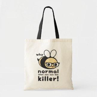 Killer Bee Tote Bag