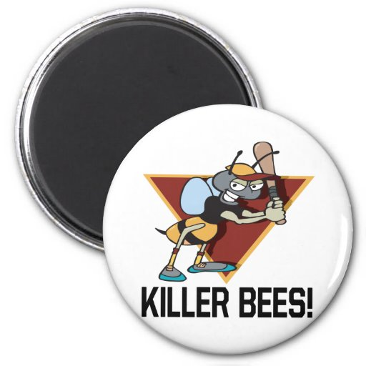 Killer Bees 2 Inch Round Magnet